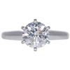 1.64 ct. Round Cut Bridal Set Ring, F, I2 #4