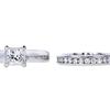 1.01 ct. Princess Cut Bridal Set Ring, H, VS1 #3