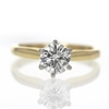1 ct. Round Cut Solitaire Ring #2