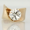 2.28 ct. European Cut Cut Solitaire Ring #1