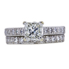 1.22 ct. Princess Cut Bridal Set Ring, J, SI1 #3
