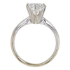 1.44 ct. Round Cut Solitaire Ring, D, SI1 #4