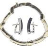 Princess Cut Link Bracelet, L-M, SI2-I1 #4