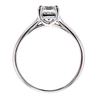 1.02 ct. Cushion Cut Bridal Set Ring #4