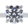 1.77 ct. Round Cut Solitaire Ring, H, VS2 #4