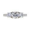 0.90 ct. Round Cut 3 Stone Ring, I, SI2 #3