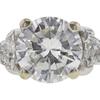 1.52 ct. Round Cut 3 Stone Ring, G, I1 #4