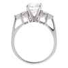 1.52 ct. Round Cut Ring, H, SI1 #2