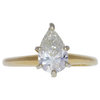 1.12 ct. Pear Cut Solitaire Ring, J, VS1 #3