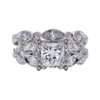 1.05 ct. Princess Cut Bridal Set Ring, H, SI1 #3
