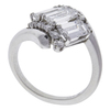 Emerald Cut Ring, F-G, VS1-VS2 #3