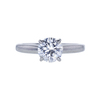1.06 ct. Round Cut Solitaire Ring, D, SI1 #3