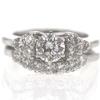 .70 ct. Round Cut Bridal Set Ring #2