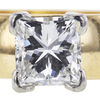 1.00 ct. Princess Cut Solitaire Ring, F, VS2 #4