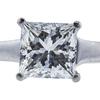 1.21 ct. Princess Cut Bridal Set Ring, G, SI2 #4