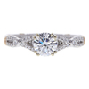 0.8 ct. Round Cut Central Cluster Ring, D, VVS1 #3