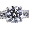 0.83 ct. Round Cut Solitaire Ring, F, VS2 #4