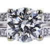 1.13 ct. Round Cut Solitaire Ring, I, I1 #4