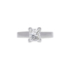 1.23 ct. Princess Cut Solitaire Ring, H, SI1 #3