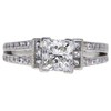 1.3 ct. Princess Cut Solitaire Ring, G, VVS1 #3