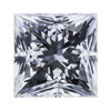 1.02 ct. Princess Cut Solitaire Ring #1