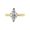 1.16 ct. Marquise Cut Solitaire Ring, F, SI2 #3