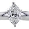 1.31 ct. Marquise Cut Solitaire Ring #4