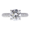 2.02 ct. Round Cut Promise Ring, G, SI1 #3