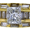 1.08 ct. Princess Cut Solitaire Ring #2