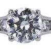1.77 ct. Round Cut Solitaire Ring, G, SI1 #4
