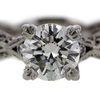 1.27 ct. Round Cut Solitaire Tacori Ring #1