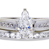 .97 ct. Pear Cut Bridal Set Ring #1