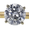 1.07 ct. Round Cut Solitaire Ring, F, I2 #4