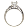 0.96 ct. Radiant Cut Bridal Set Ring, J, SI1 #4
