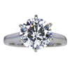 2.43 ct. Round Cut Solitaire Ring, I, SI2 #1