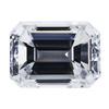 1.22 ct. Emerald Cut Bridal Set Ring #3