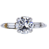 1.34 ct. Round Cut 3 Stone Ring, I, VS2 #2