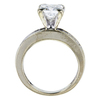 1.66 ct. Princess Cut Solitaire Ring, H-I, I1 #3