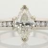 1.08 ct. Marquise Cut Bridal Set Ring #2