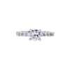 0.95 ct. Round Cut Solitaire Ring, G, SI1 #4