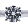 1.05 ct. Round Cut Bridal Set Ring, H, SI2 #2