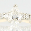 0.87 ct. Pear Cut Ring #3