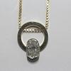 2.38 ct. Oval Cut Pendant Necklace #2