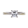 1.03 ct. Cushion Cut Solitaire Ring, G, VS2 #3