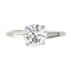 1.98 ct. Round Cut 3 Stone Ring, J, VVS2 #3