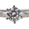 0.52 ct. Round Cut Bridal Set Ring, F, VS2 #4