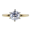 1.06 ct. Round Cut Solitaire Ring, D, SI1 #2