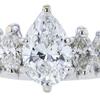 1.02 ct. Pear Cut Bridal Set Ring, G, VS2 #4