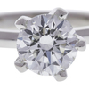 1.5 ct. Round Cut Solitaire Ring, G, VS1 #4