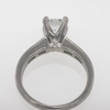 1.05 ct. Princess Cut Bridal Set Ring #2